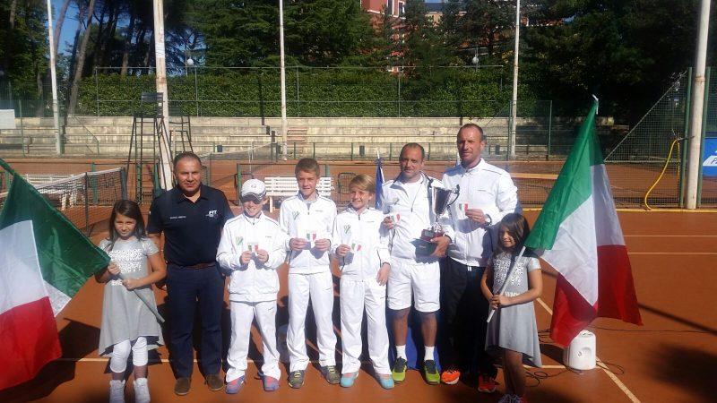 Eur Roma campione d'Italia under 12 a squadre