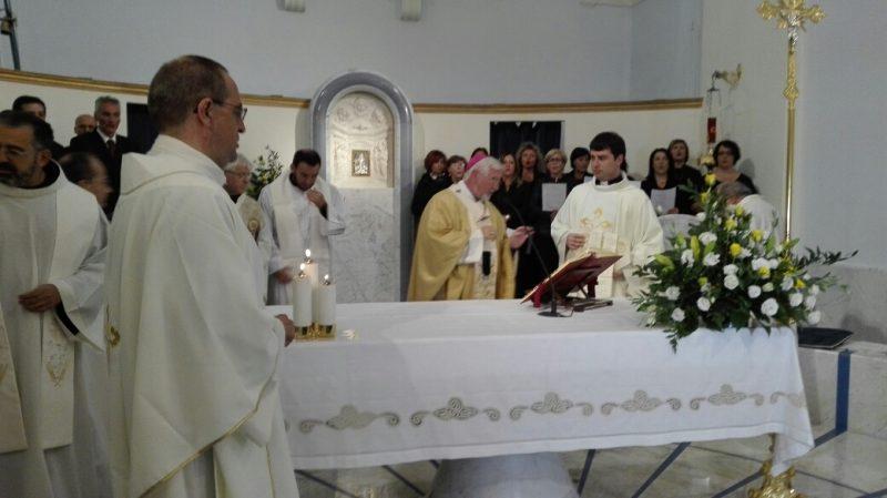 """Riaperta la chiesa della Libera, Battista: """"Gioia ed emozione"""""""