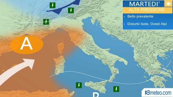 METEO – Sole e temperature in aumento tornano alla carica