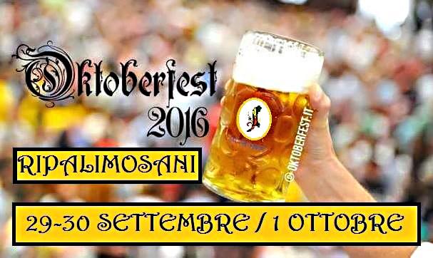 Atmosfera bavarese a Ripa, domani parte l'Oktoberfest
