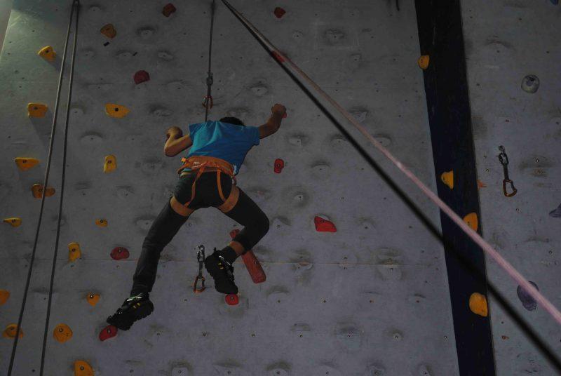 Cus Molise, successo per l'open day di arrampicata sportiva