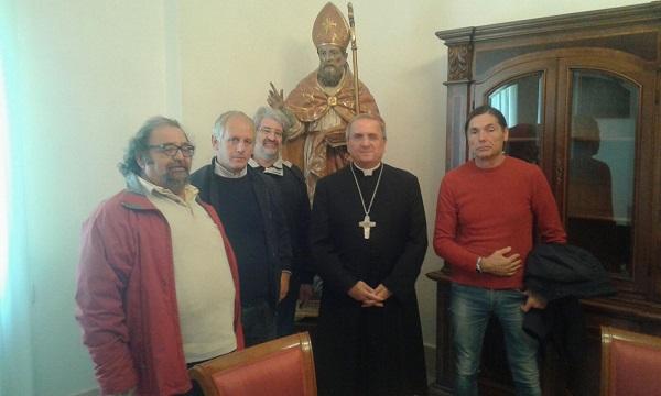 Ex cantonieri-autisti provinciali, il Comitato incassa il sostegno di Monsignor Cibotti