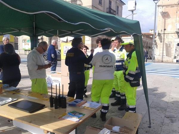 ?Io non rischio?, volontari dei vigili del fuoco e della protezione civile in piazza a Isernia