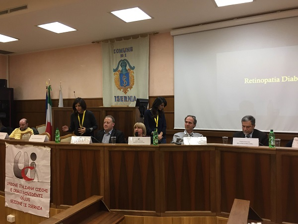 Retinopatia diabetica, grande successo per il seminario UICI-IAPB