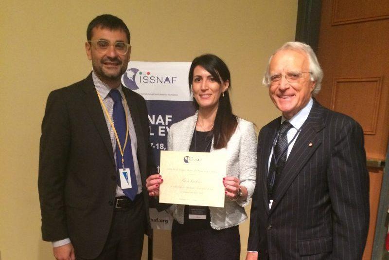 Ricerca: Issnaf Awards, a Washington premiata la molisana Ilaria Iacobucci