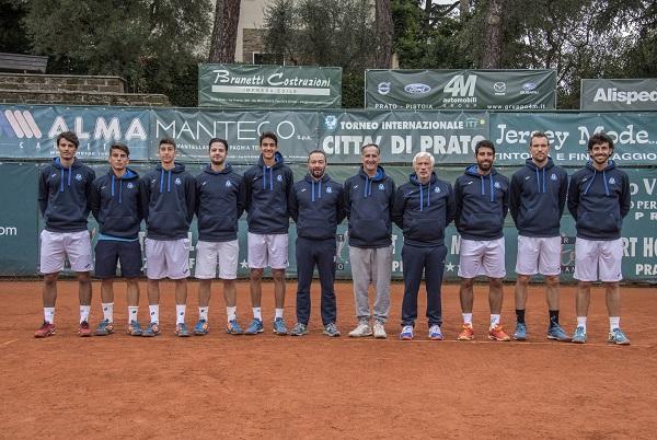 Tennis, Federico Iannaccone porta in alto il T.C. Prato