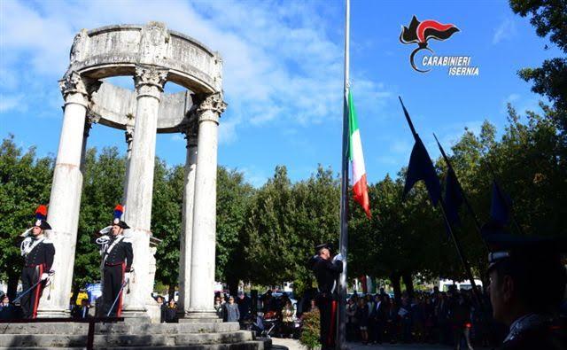 Festa dell'Unità e delle Forze Armate, le celebrazioni dei Carabinieri di Isernia