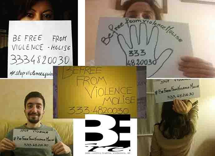 """INIZIATIVE – """"Befree"""", selfie dal Molise contro la violenza"""
