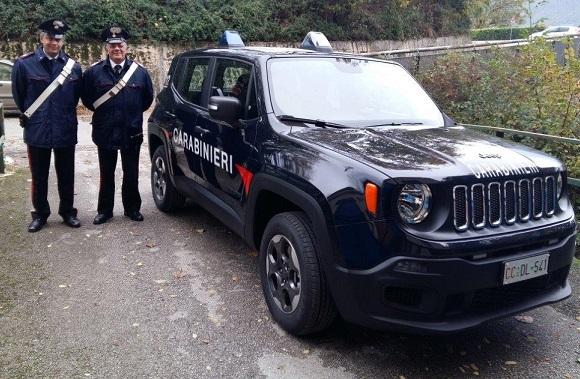 Isernia, nuovi mezzi per il Nucleo Radiomobile dei Carabinieri
