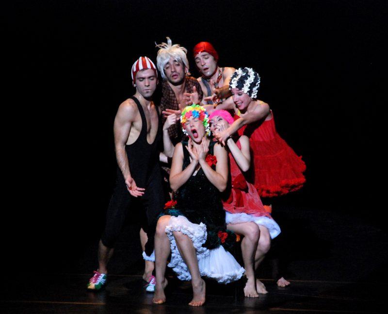 Loto Link Fest, a Ferrazzano la danza contemporanea omaggia Fellini con i Bislacchi