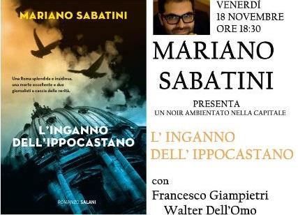CULTURA – L'Inganno dell'Ippocastano, Mariano Sabatini a Isernia