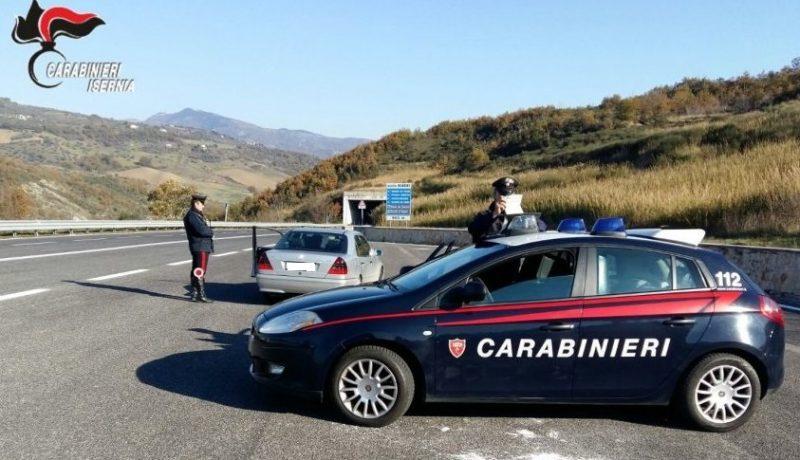 Attività di controllo del territorio, Carabinieri in azione