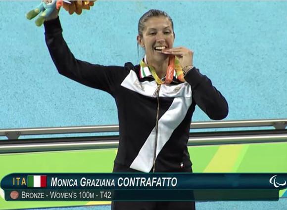La medaglia di bronzo dei 100 metri di Rio 2016 ospite al PalaUnimol
