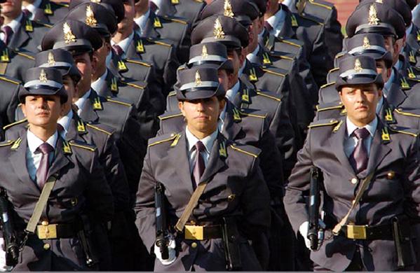 Guardia di Finanza, concorso per l'arruolamento di 461 Allievi Marescialli