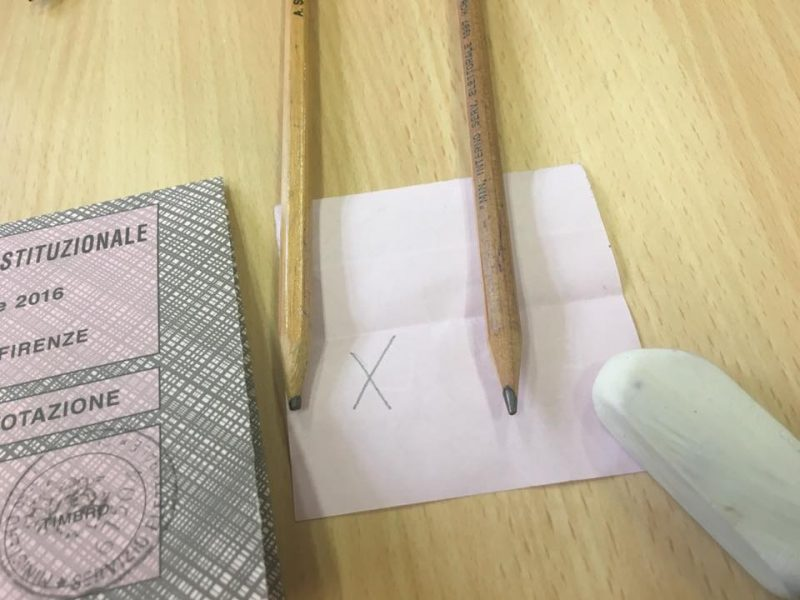 Referendum: matite cancellabili. Interviene polizia ad Isernia