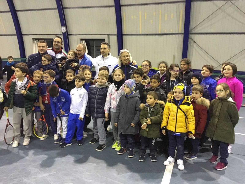 Grande successo per il Fit Junior Program di tennis