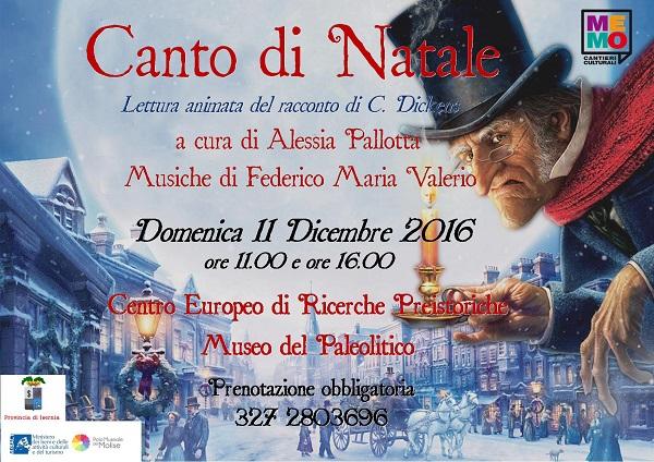 """INIZIATIVE – """"Canto di Natale"""" al Paleolitico con Me.MO Cantieri Culturali"""