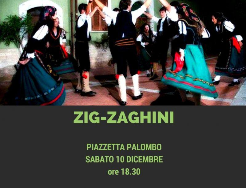 Piazzetta Palombo pronta ad ospitare il gruppo folkloristico degli 'Zig-Zaghini'