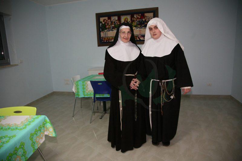 Molise solidale: le monache Clarisse ospitate a Cercemaggiore