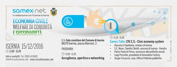 Economia, welfare e sussidiarietà: il Samex Member Meeting arriva a Isernia
