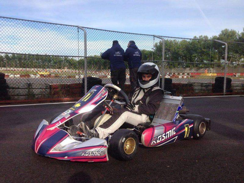 Niko Petrino campione interregionale di kart 2016