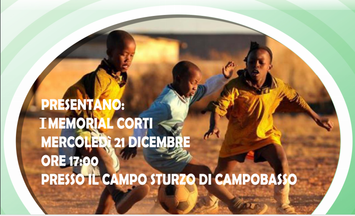 Campobasso: triangolare di calcio per aiutare i bambini ugandesi afflitti da malaria