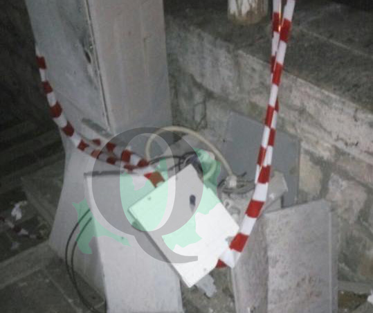 Atti vandalici a Santa Croce, danneggiati i quadri elettrici della piazza e del corso