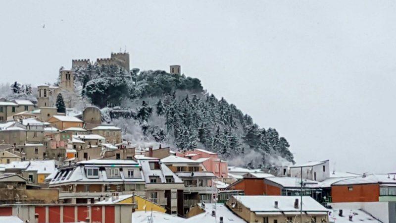 Prima neve a Campobasso e zone limitrofe (LE FOTO DEI LETTORI)
