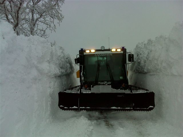 Emergenza neve, il bilancio degli interventi dei Carabinieri di Isernia
