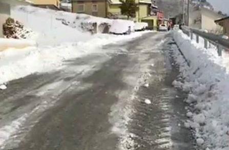 Isernia, 22 mezzi impegnati per sgombero neve e spargisale