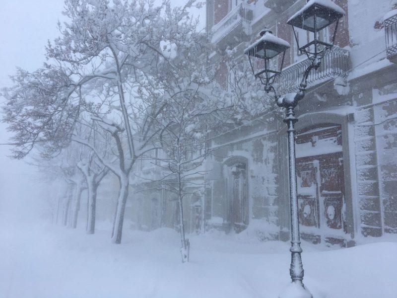 Neve, chiesto lo stato di emergenza dalla Regione