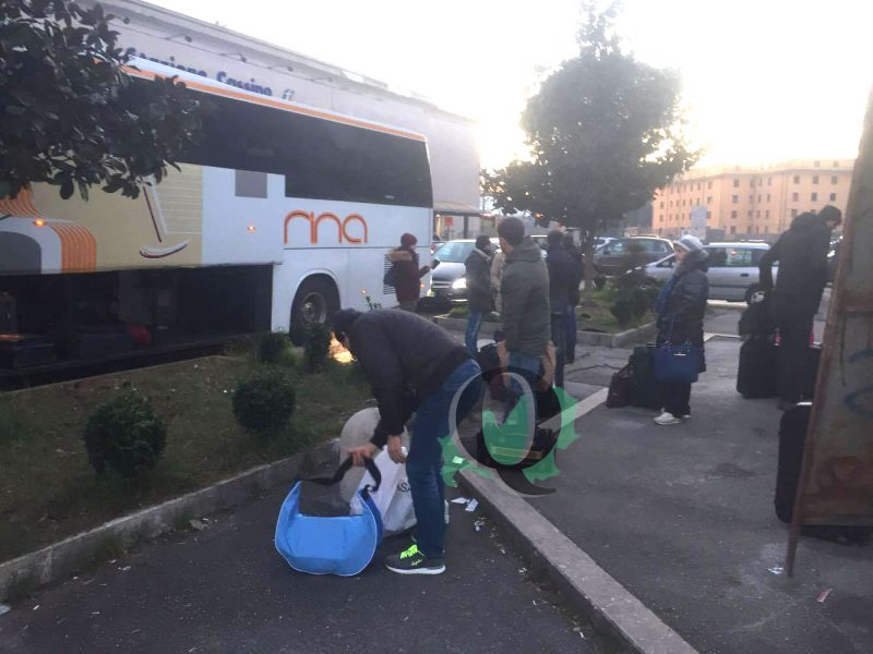Bus sostitutivo pieno, disagi e proteste anche alla stazione di Isernia. Un'impresa rientrare da Roma a Campobasso