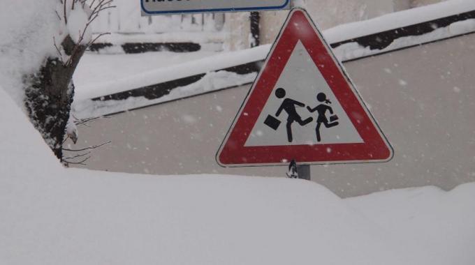 Torna la neve, scuole chiuse a Campobasso. L'elenco aggiornato