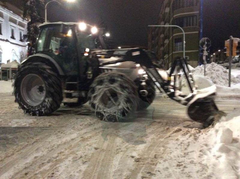 Neve, bollettino delle strade Provinciali ancora bloccate