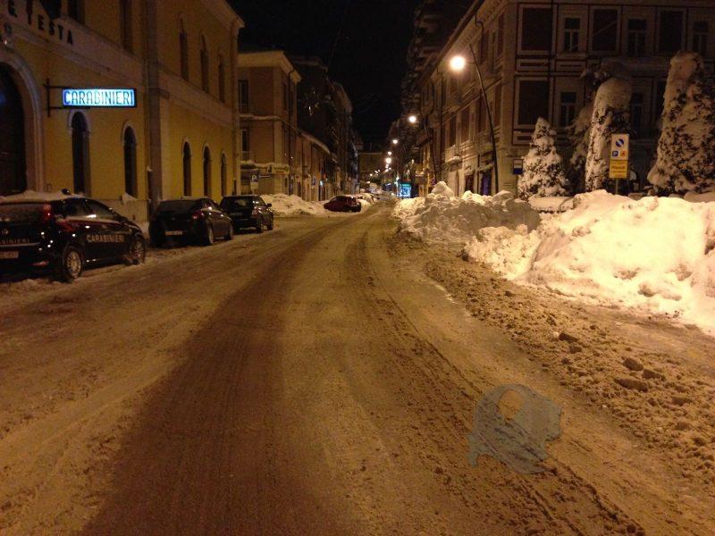 Persiste il maltempo in Molise, possibili nevicate nella notte