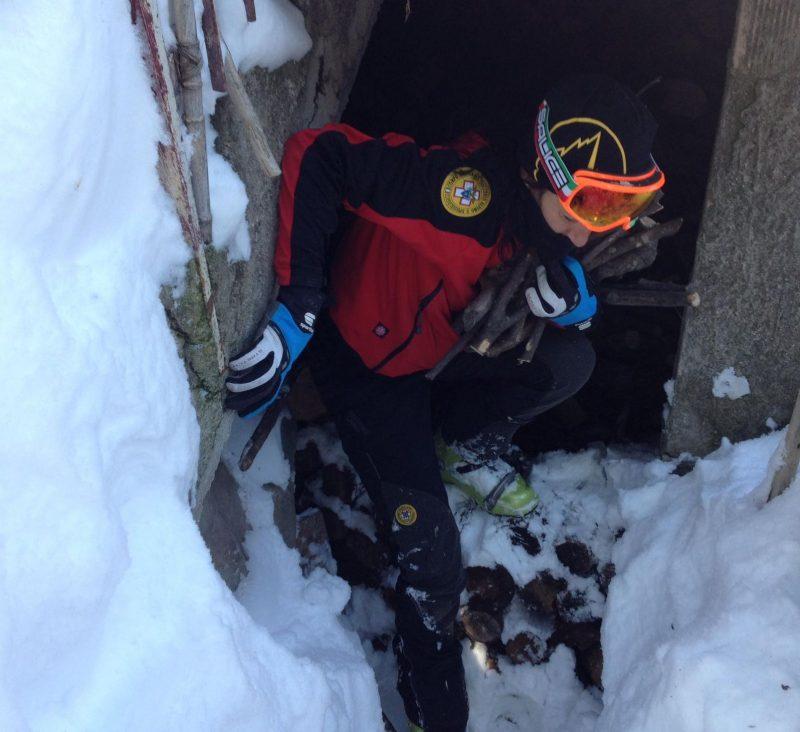 Emergenza neve: intervento del Soccorso Alpino nel Comune di Civitacampomarano