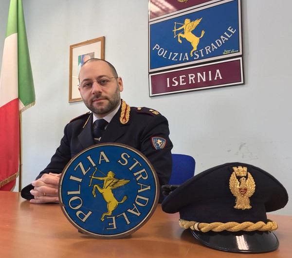 Cambio al vertice della Polstrada, a Isernia arriva il commissario Giaquinto