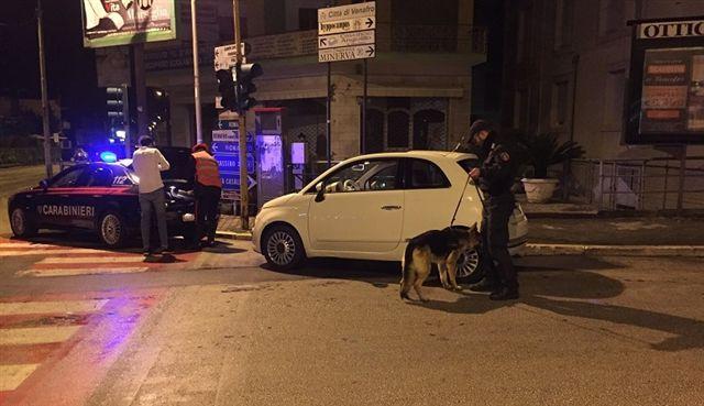 Carabinieri in azione durante il week end nel venafrano