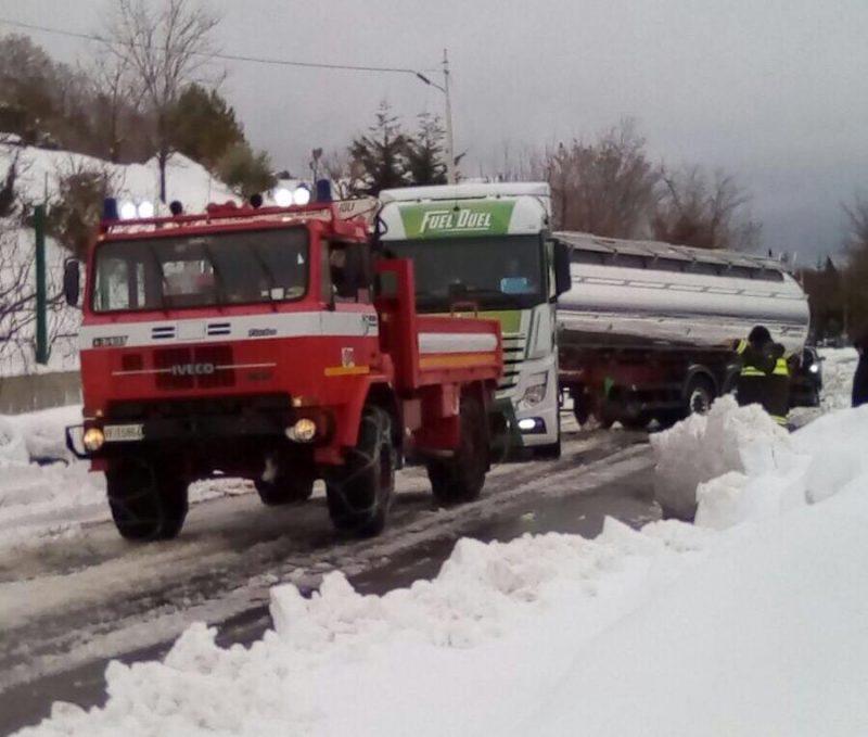 Disagi per il maltempo, 50 gli interventi dei Vigili del Fuoco di Isernia