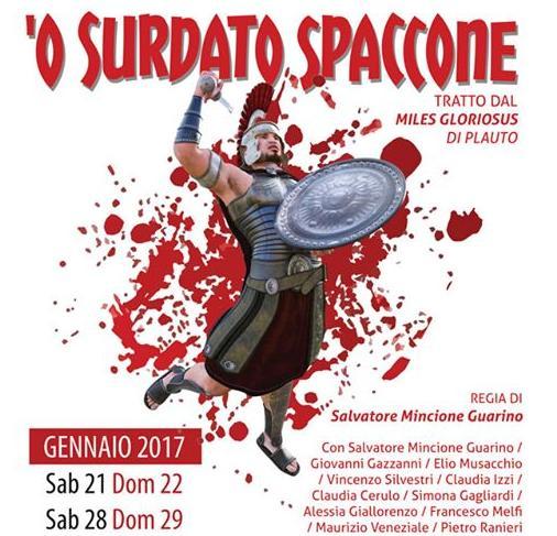 SPETTACOLI- Isernia, risate e teatro con 'O' surdato spaccone'