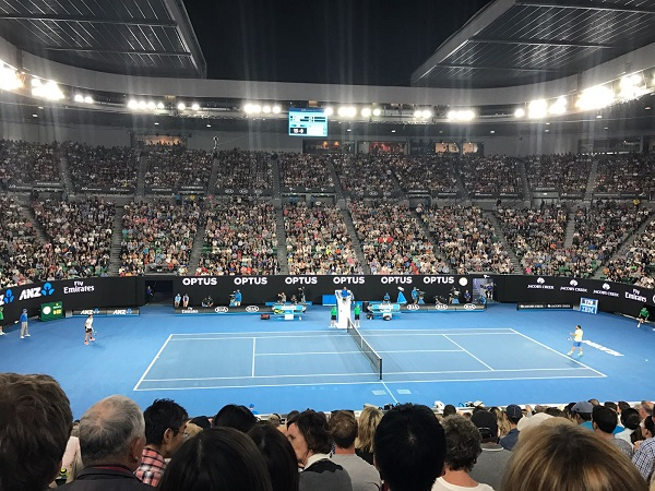 Impresa all'esordio di Iannaccone all'Australian Open
