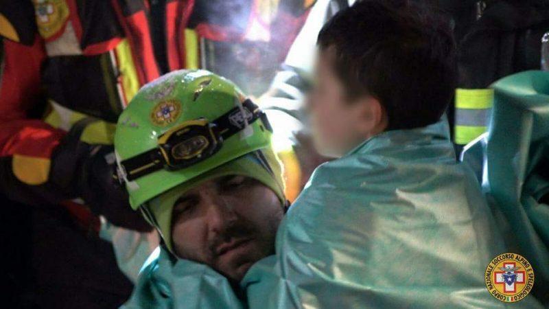 Farindola, l'infermiere molisano in prima linea per prestare soccorso