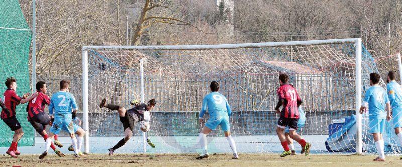 CALCIO- Terza sconfitta di fila per i Lupi
