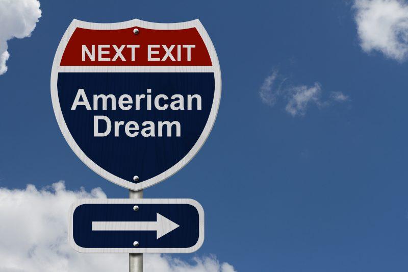 """""""American Dream"""", è ancora una realtà?"""