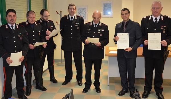 Premiati per merito i Carabinieri della Compagnia di Venafro