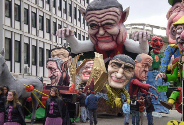 Carnevale larinese, prima sfilata annullata