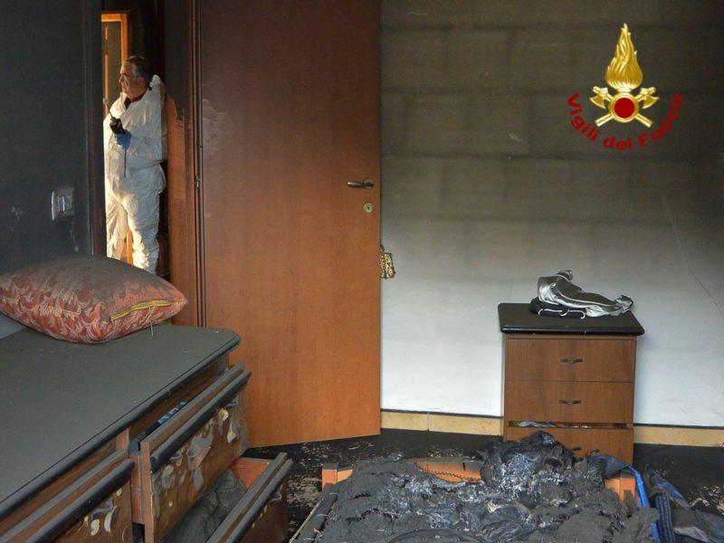Vinchiaturo. A fuoco un appartamento, intervengono i Vigili