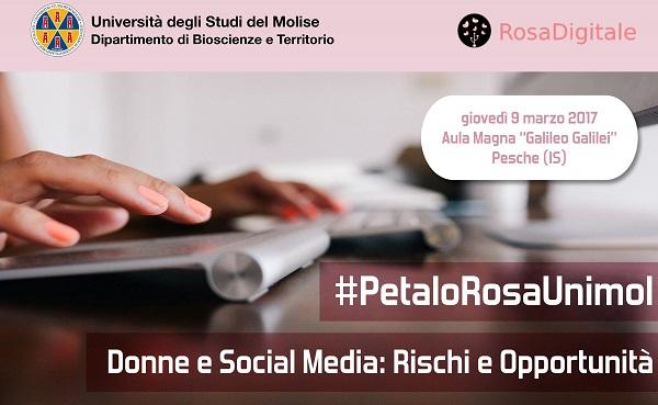 Settimana del RosaDigitale, convegno di sensibilizzazione sull'uso dei social media