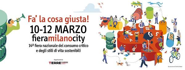 'Fa' la cosa giusta', Castel del Giudice a Milano alla fiera del bio e del consumo sostenibile