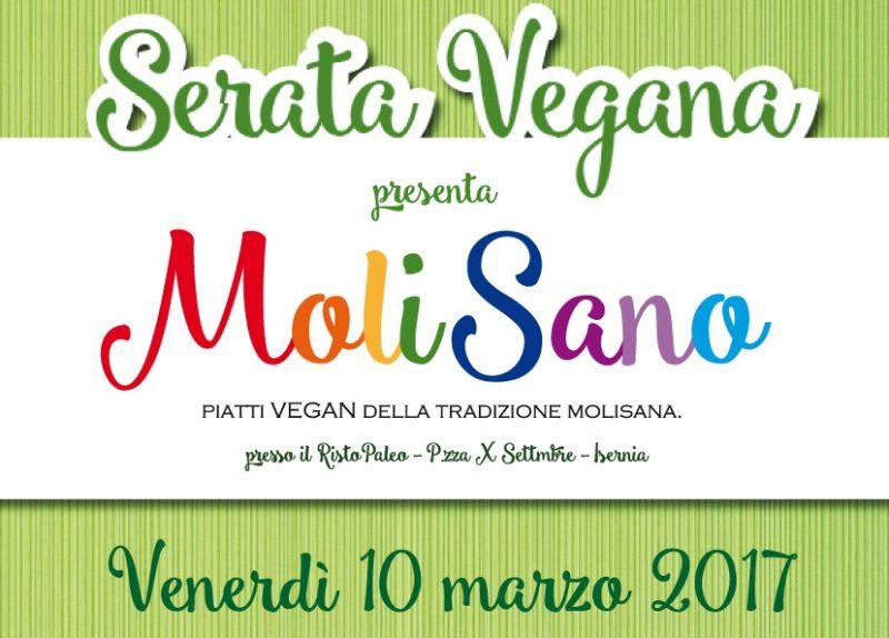 MoliSano, i piatti della tradizione secondo l'alimentazione vegana